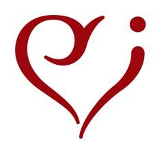 узор в форме сердца