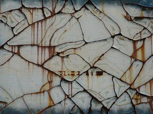текстура потрескавшейся ржавой краски