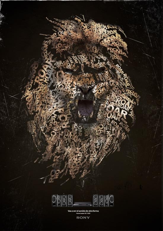 типографический лев