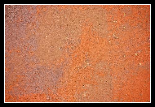 оранжевый бетон