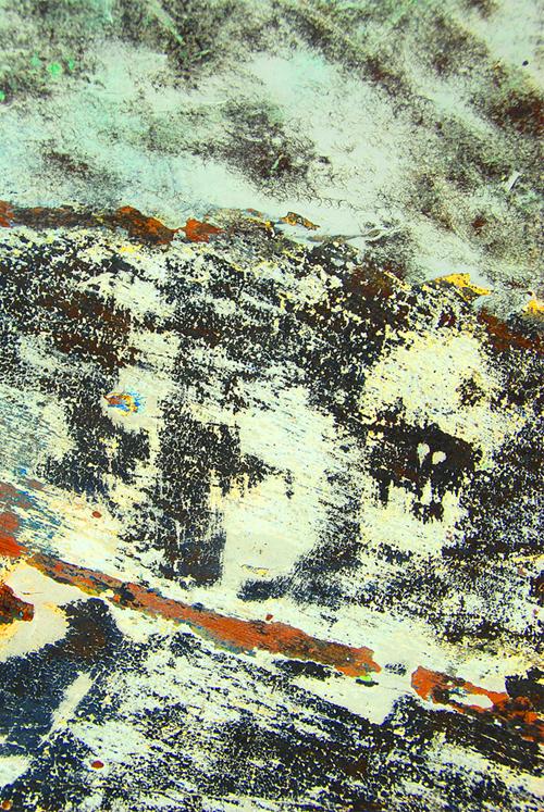 текстура в разводах краски