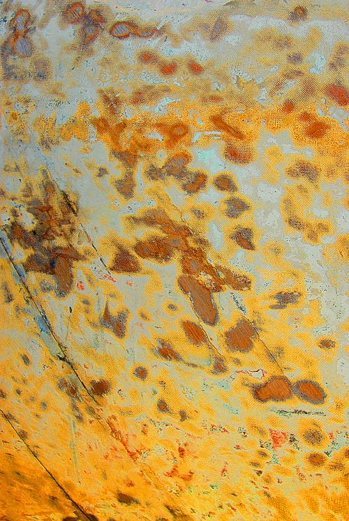 текстура с ржавыми пятнами