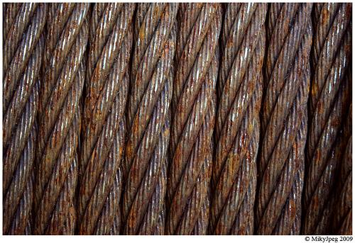 текстура из метталлических прутьев