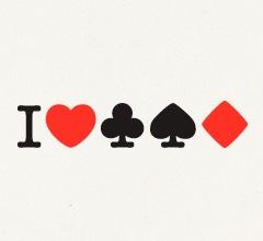 сердце в лого для покера