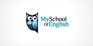 фигура совы в лого