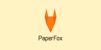 бумажная лисица