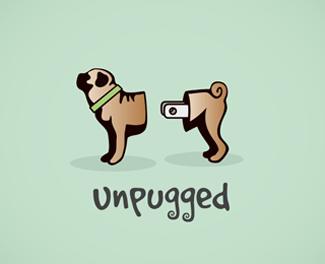 разделенная собака на логотипе