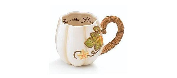 Кофейная чашка с декором