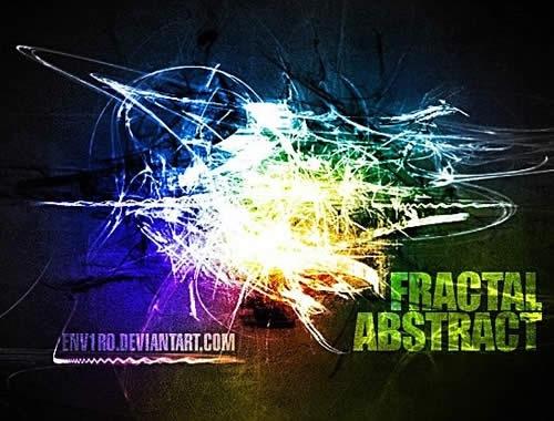 Абстрактные фрактальные кисти