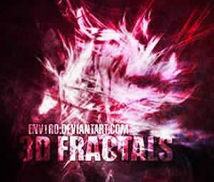 3D фрактальные кисти