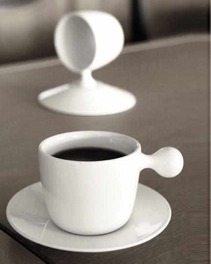 Кофейная чашка с держателем