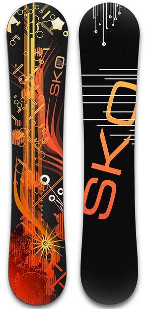 черно-оранжевые оттенки