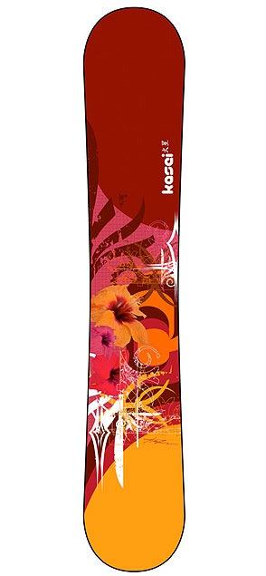 абстрактные рисунки на сноубордах