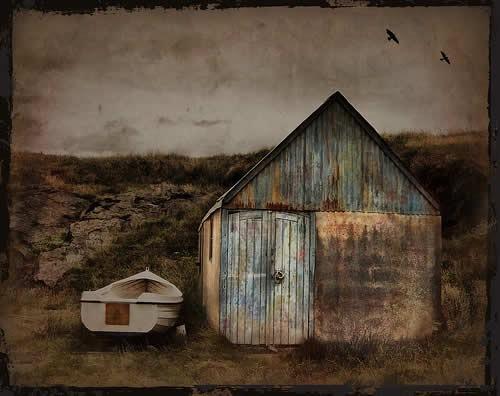 старый гараж
