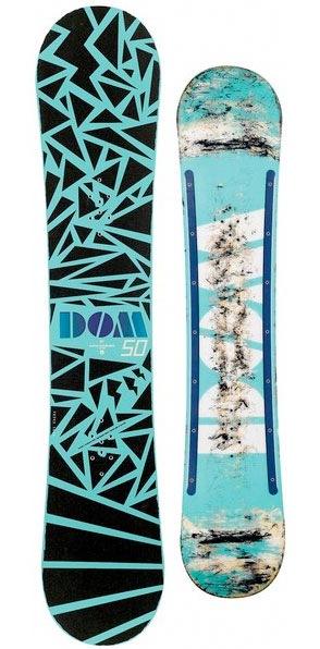 абстрактные элементы в дизайне сноубордов