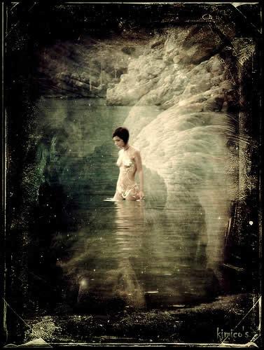 ангел на воде