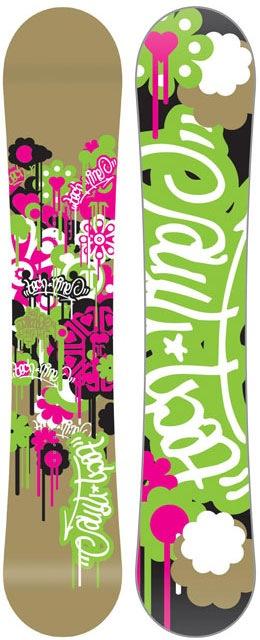 сноуборды в стиле гранж