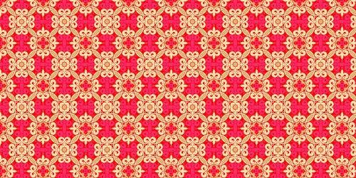 яркие красные паттерны