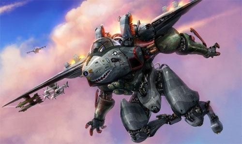 робот-истребитель