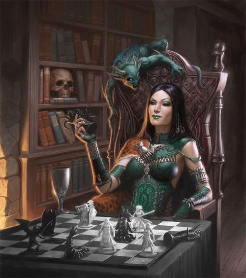 царица тьмы