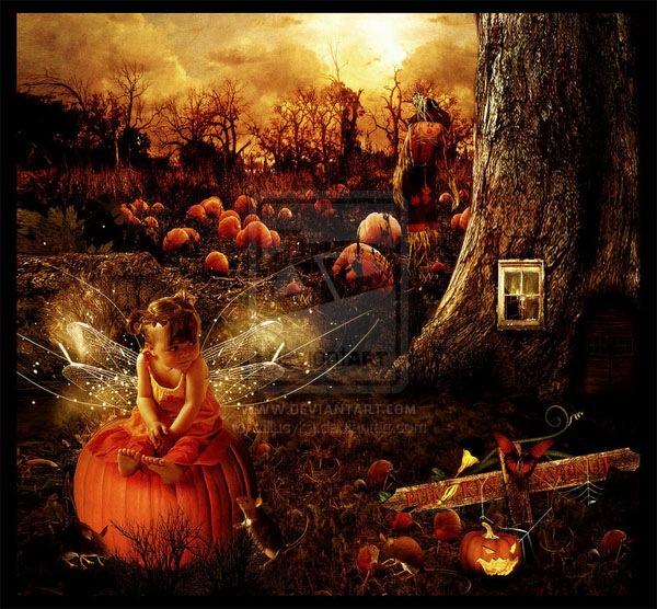 фея на хэллоуин