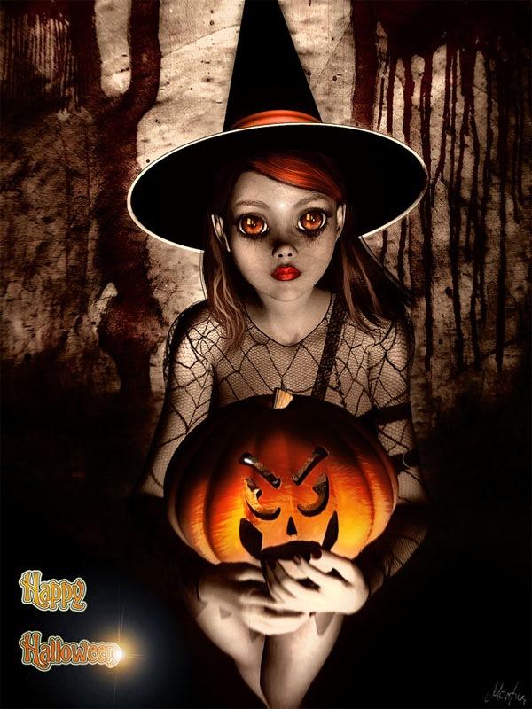 иллюстрации к хэллоуину