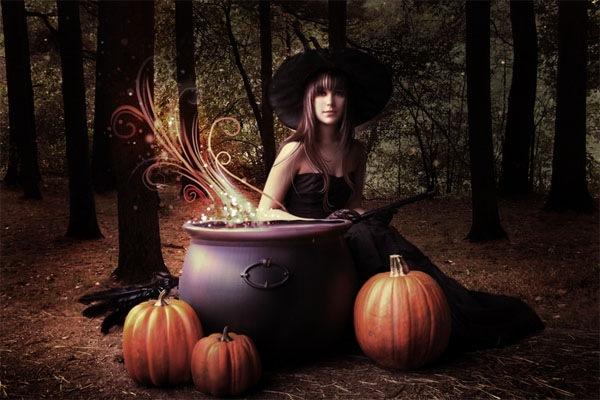 волшебство хэллоуина