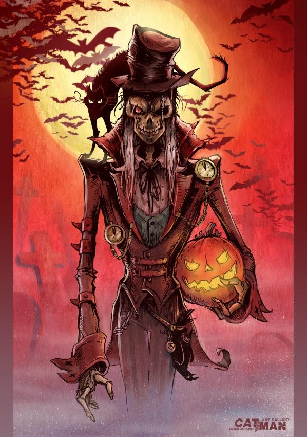 монстр хэллоуина