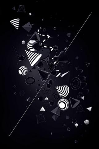 Ретрофутуристические обои для iPhone