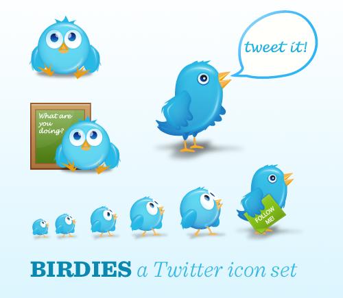 Иконки-птички