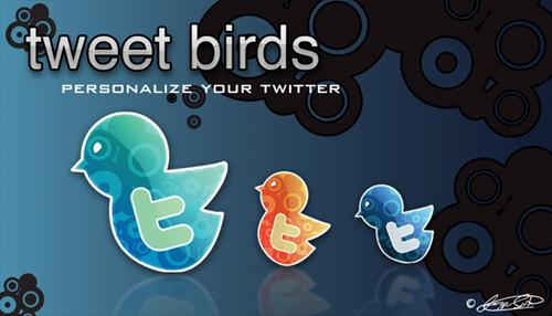 Птицы Tweet