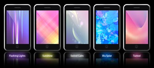 яркие обои для iPhone
