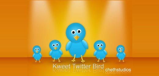 Забавные птички иконки