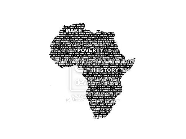 Бедность в Африке