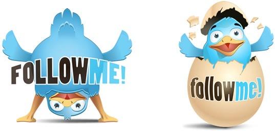 2 иконки Twitter