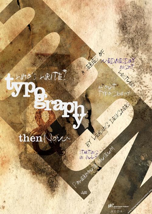 стильная типографика