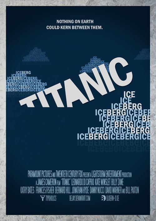 типографичекий постер к фильму