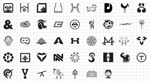 иллюстрированные логотипы