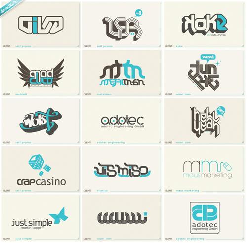 типографические логотипы