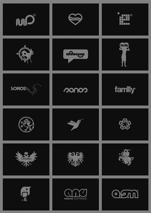 логотипы различных форм