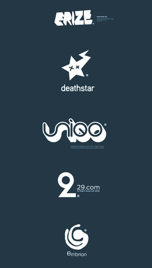 аккуратные логотипы