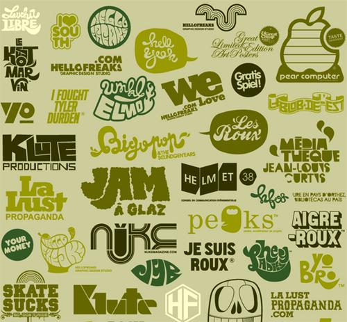 различные примеры логотипов
