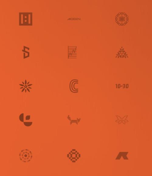 простые логотипы