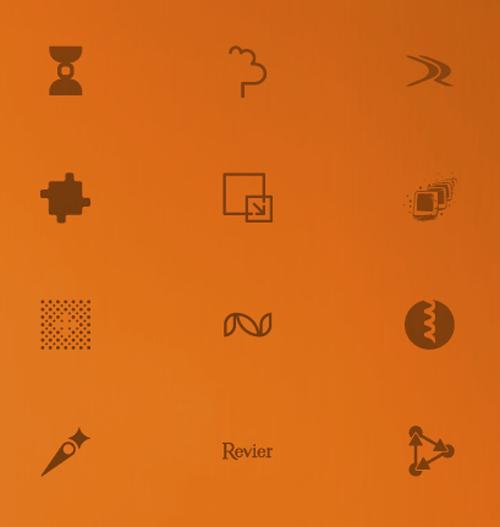 простые дизайны логотипа