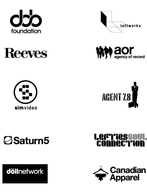 набор дизайнов лого