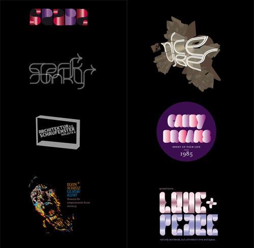 яркие креативные логотипы