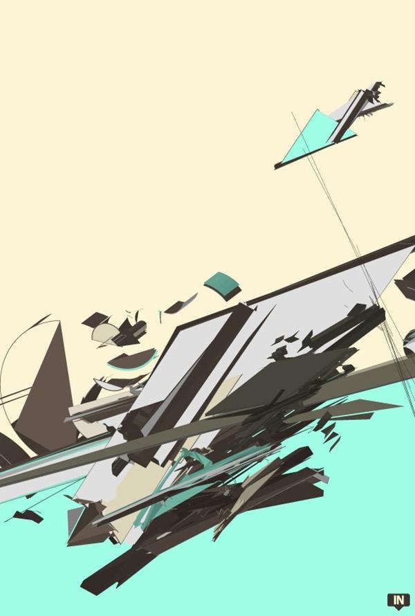 абстрактные векторные элементы
