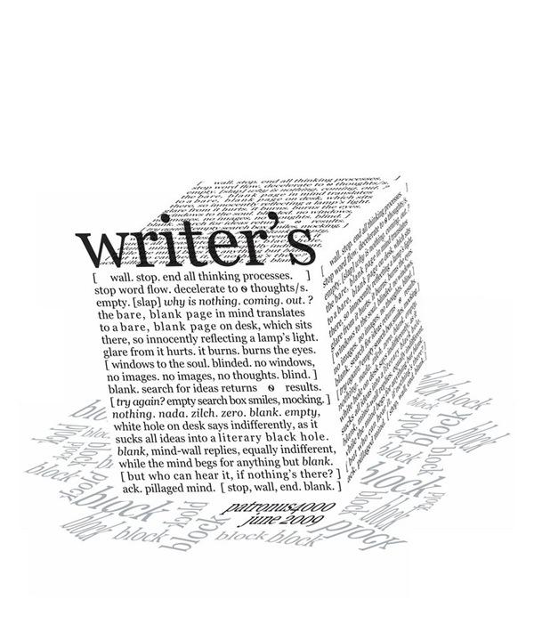 Блок писателя