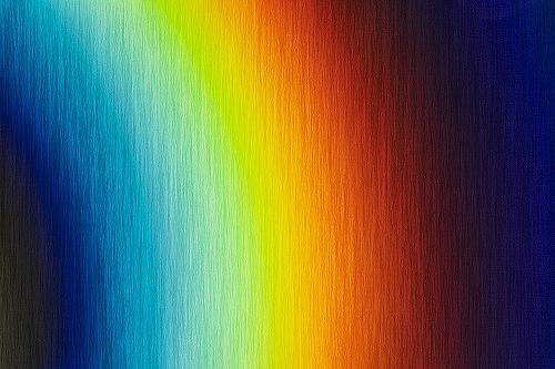 радужные линии света