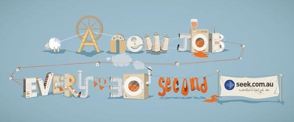 креативные шрифты из иллюстраций